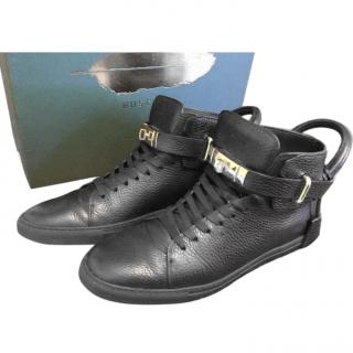 BUSCEMI men's high top sneakers