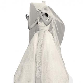 Elie Saab spring 2017 bridal collection # 13 - dress + veil worn once