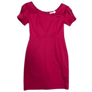 Dior pink cocktail dress