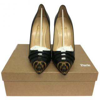 Christian Louboutin front double 100 patent