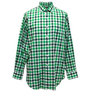 Richard James Green Checked Shirt
