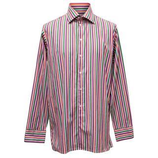 Richard James Multicoloured Striped Shirt