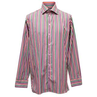 Richard James Multicoloured Striped Shirt