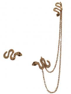 elise dray 18ct gold & diamond earrings