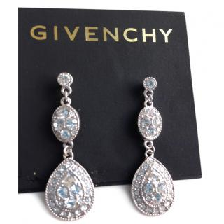 Givenchy Swarovski Crystal Earrings New