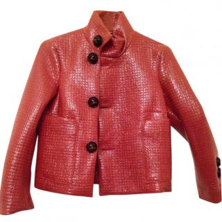Dsquared2 wool/plastic jacket
