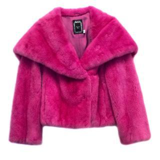 Christian Dior Pink Mink Fur Jacket