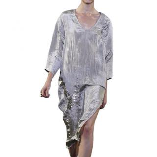 Alexander Wang foil detail dress