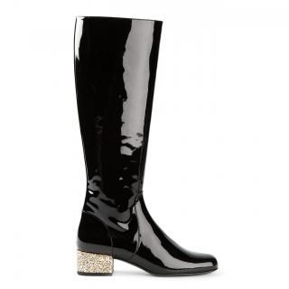 Saint Laurent 'Babies' Mid-calf boots