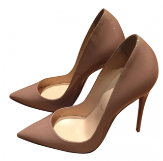 Christian Louboutin Nude So Kate Heels