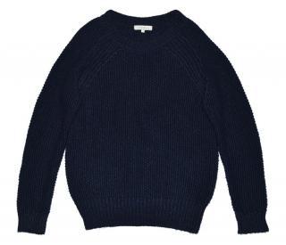 Sandro Alpaca Wool Blue Jumper