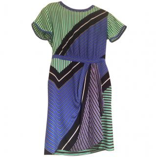 DVF multicoloured dress