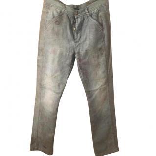 Alexander McQueen Dirty look jeans