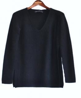 Ralph Lauren Black Label black cashmere jumper