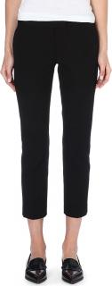 Joseph black New Queen cropped trousers