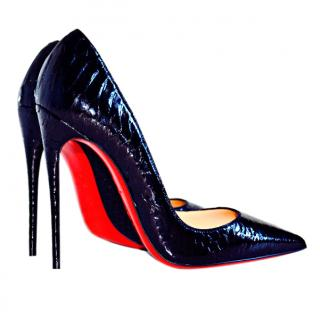 Christian Louboutin Black So Kate PYTHON