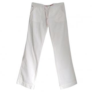 Tommy Hilfiger White Leisure Trousers