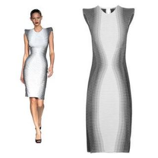 Alexander McQueen Optical Dress