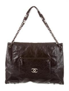Chanel Glazed Caviar Tote Bag