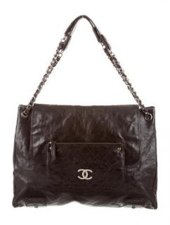 Chanel Glazed Caviar Tote Bag