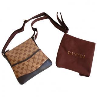 Gucci Crossbody Monogram Bag