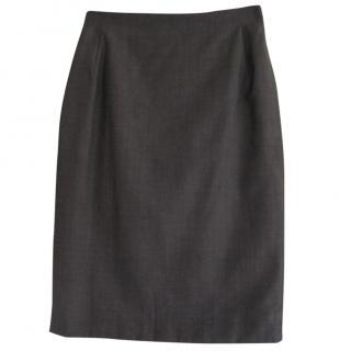 Vintage Burberrys pencil skirt; S