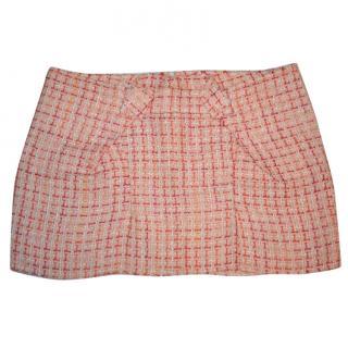 Roland Mouret pink mini skirt