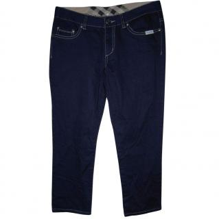 Burberry Denim Cropped Pants