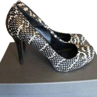 Alexander McQueen Optic Snake Heels