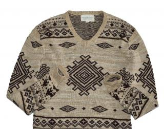 Ralph Lauren Amazing sweater with Aztec print