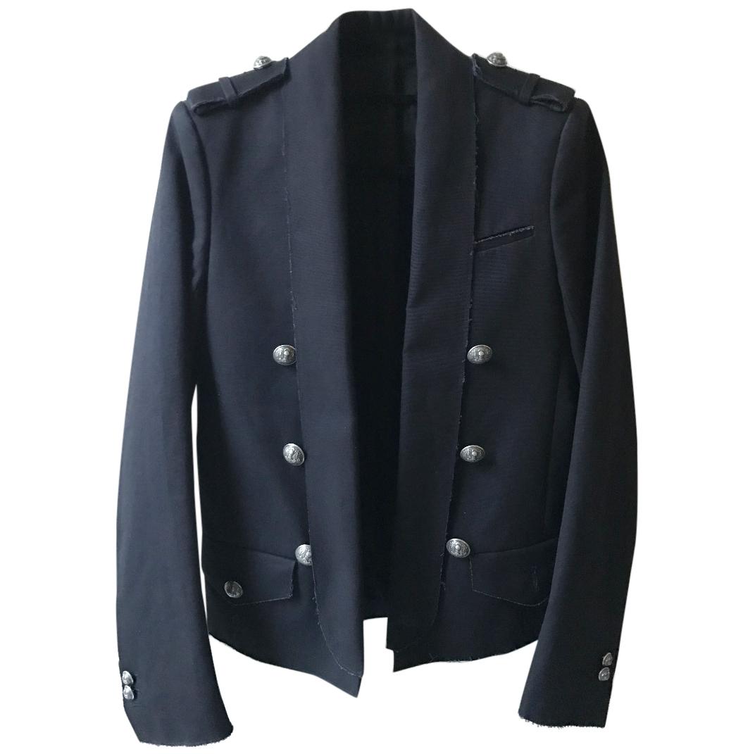 BALMAIN Men's Navy Blazer
