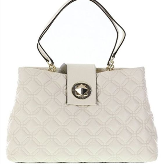 7177d4148b5c Kate Spade Astor Court Elena Quilted Leather Tote New093744