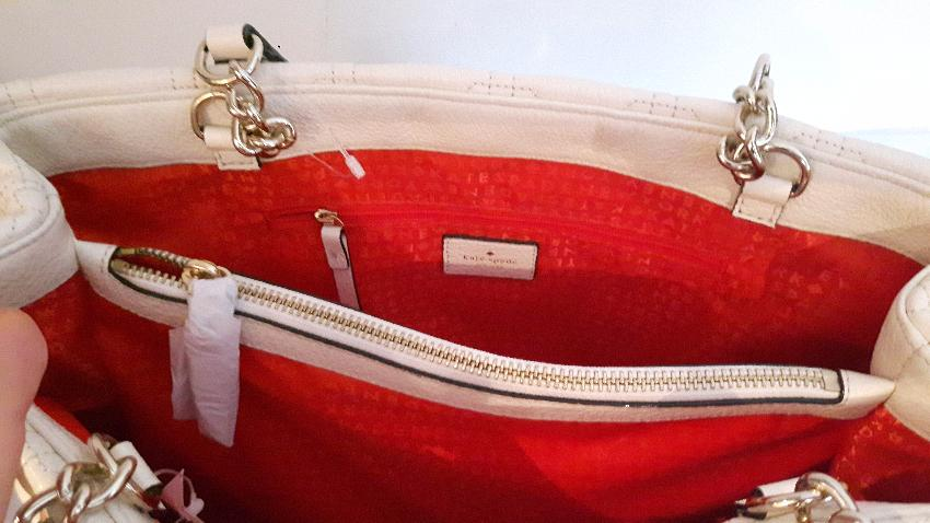 bf52f7de1c6f Kate Spade astor court elena quilted leather tote new. 27. 12345678910