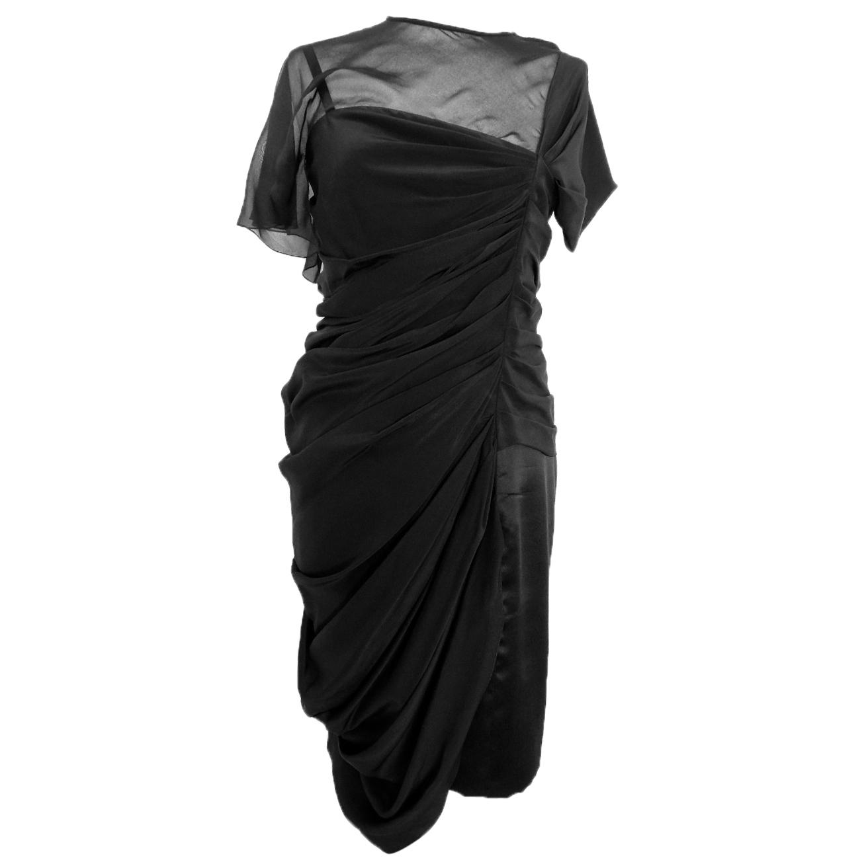 Vionnet black dress