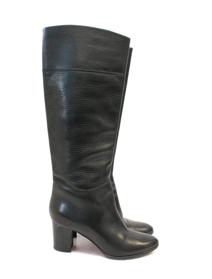 brand new 59b27 f04a6 Christian Louboutin Black Boots