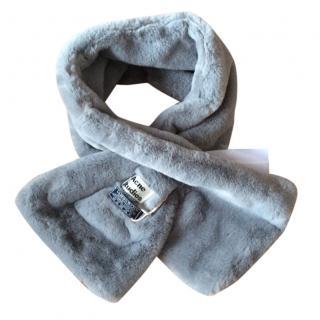 Acne studios fur scarf