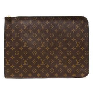Louis Vuitton Large Monogram Zip Around Wallet