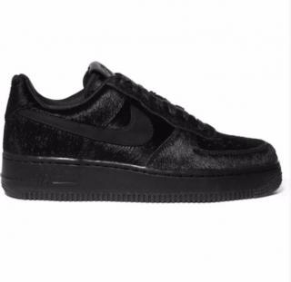 Nike Air Force 1 Calf Hair Sneakers
