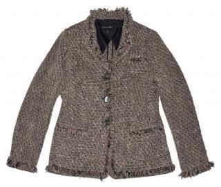 Rena Lange Tweed Wool Jacket