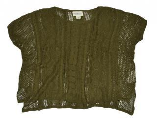 Ralph Lauren Denim & Supply crochet Oversize jumper poncho
