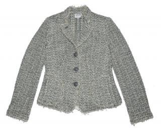 Armani Collezioni Tweed Wool Jacket