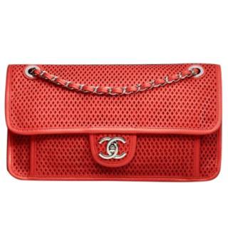 Chanel Perforated Orange Bag
