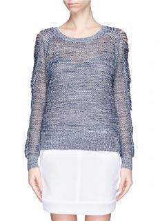 Iro 'Yana' Open Knit Sweater