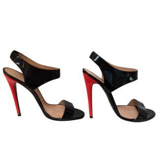 Versace Patent Sandal Red Heel RPP �710.00
