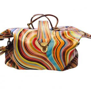 Paul Smith Swirl weekend bag
