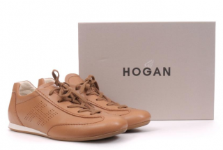 Hogan Leather Lace Up Trainers