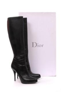 Dior 'Miss Dior' Leather High Boots 11cm