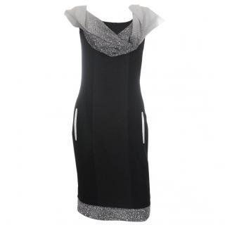 Jonathan Saunders Erin Sleeveless Silk Dress