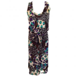 M Missoni mid length multicolor dress