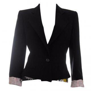 Christian Lacroix Wool-Crepe Jacket